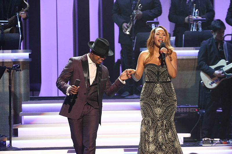 Ne-Yo and Aisha Morris