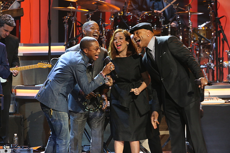 Pharrell Williams, Jamie Foxx, Maya Rudolph, and LL COOL J