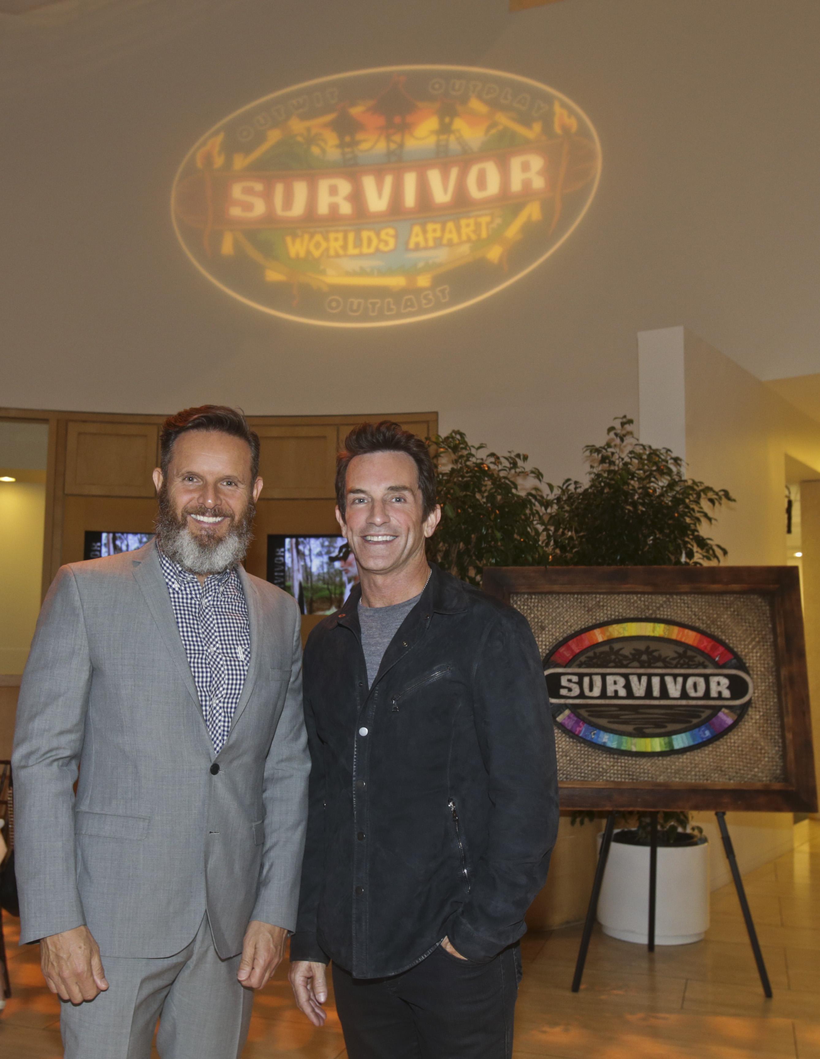 Mark Burnett and Jeff Probst
