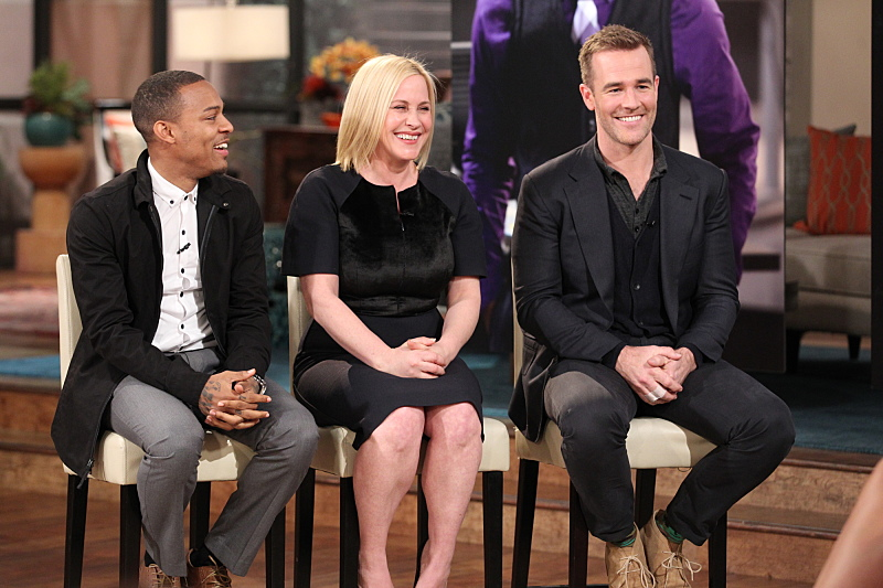 Shad Moss, Patricia Arquette and James Van Der Beek stop by THE TALK