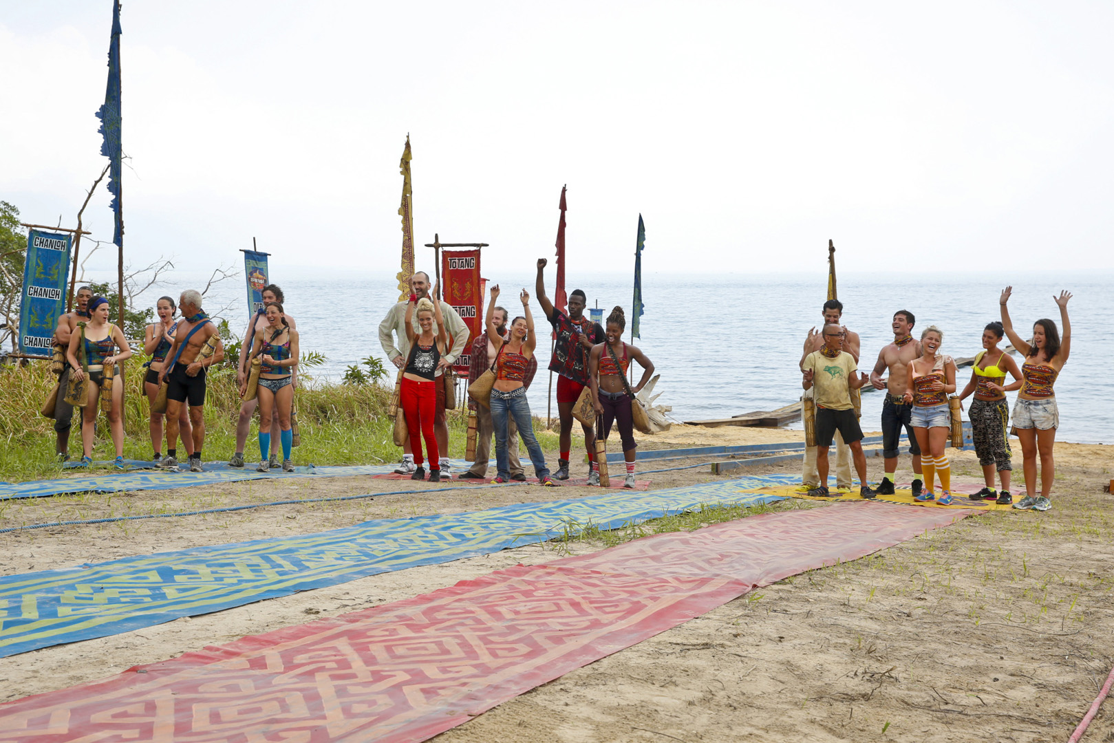 This season's first Immunity Challenge is sure to get everyone's hearts racing.
