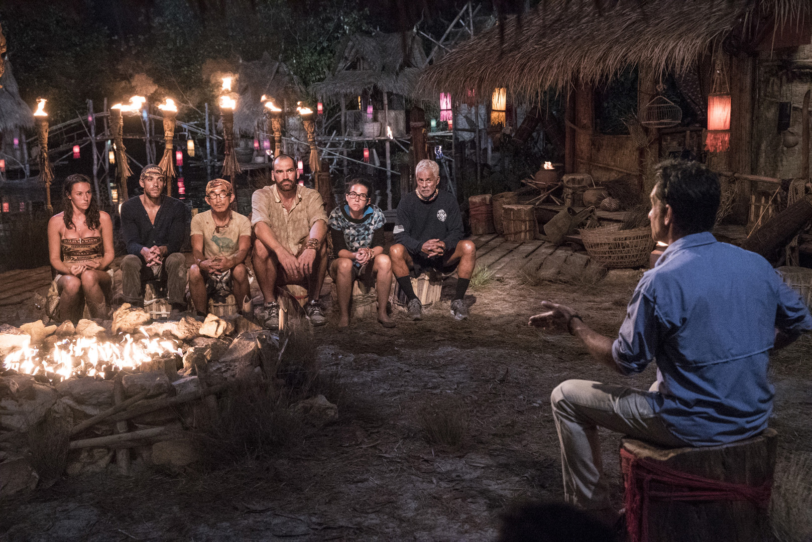 3. Did it cross your mind to tell the rest of the castaways about Tai's Hidden Immunity Idol as you were leaving Tribal?