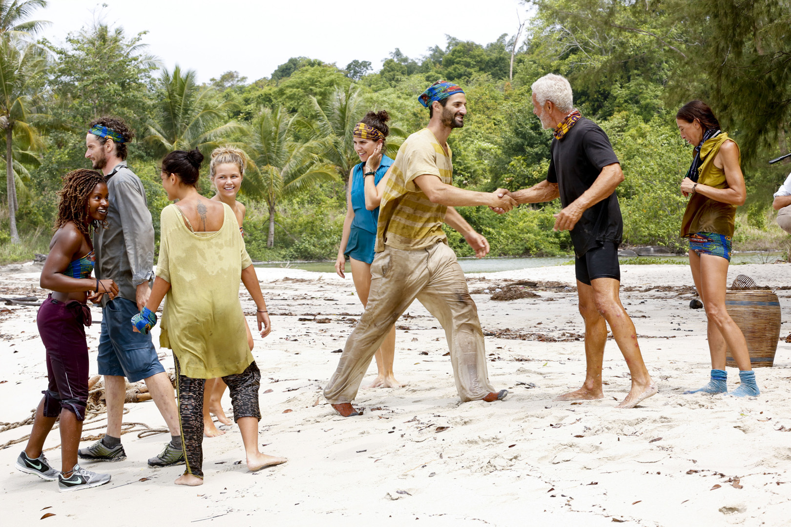 It's a fresh start for the remaining Survivor: Kaoh Rong castaways.