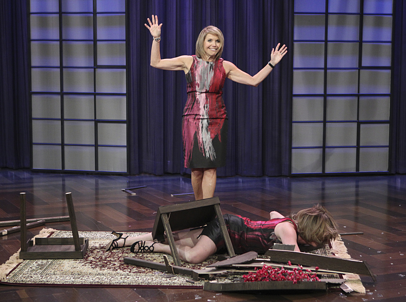 Kate Couric destroyed Bizarro Katie Couric.