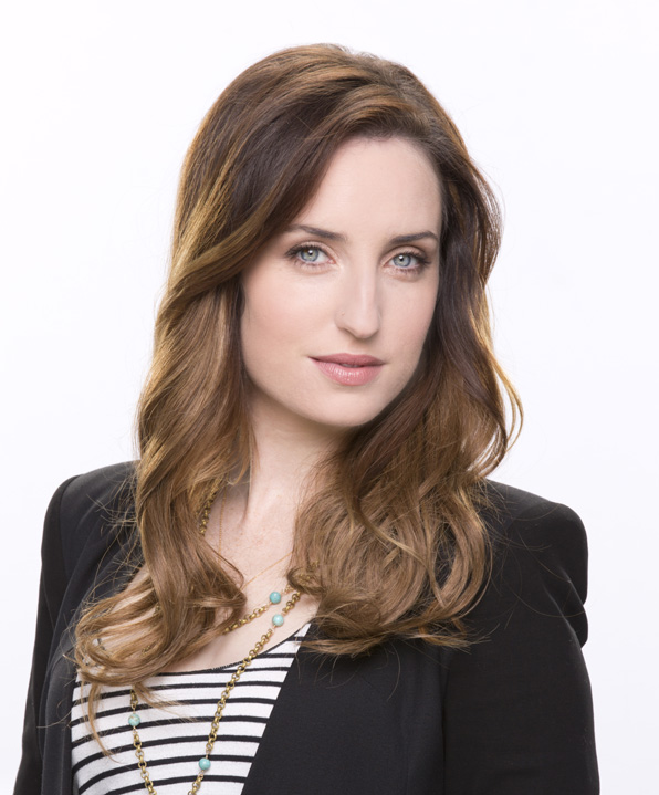 8. Zoe Lister-Jones taps into her maternal side.