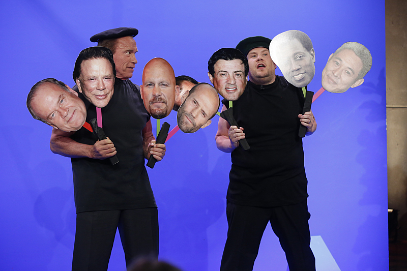 Look, it's The Expendables!