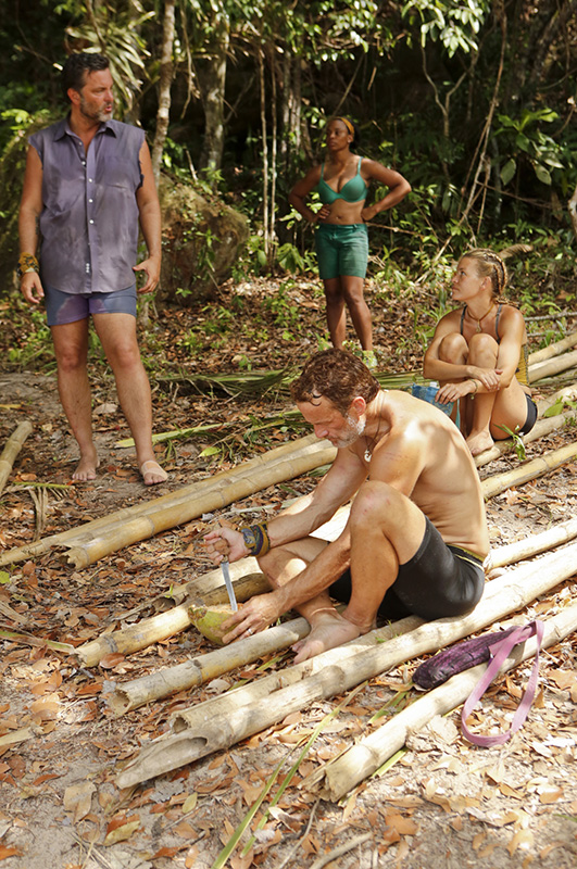 The Angkor Tribe gets to work