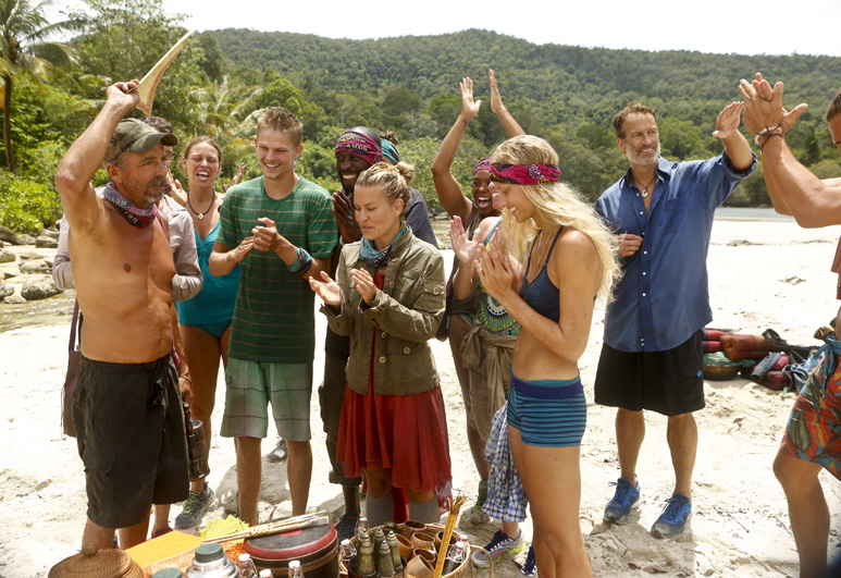 Episode 7 kicks off with the long-awaited tribe merge.