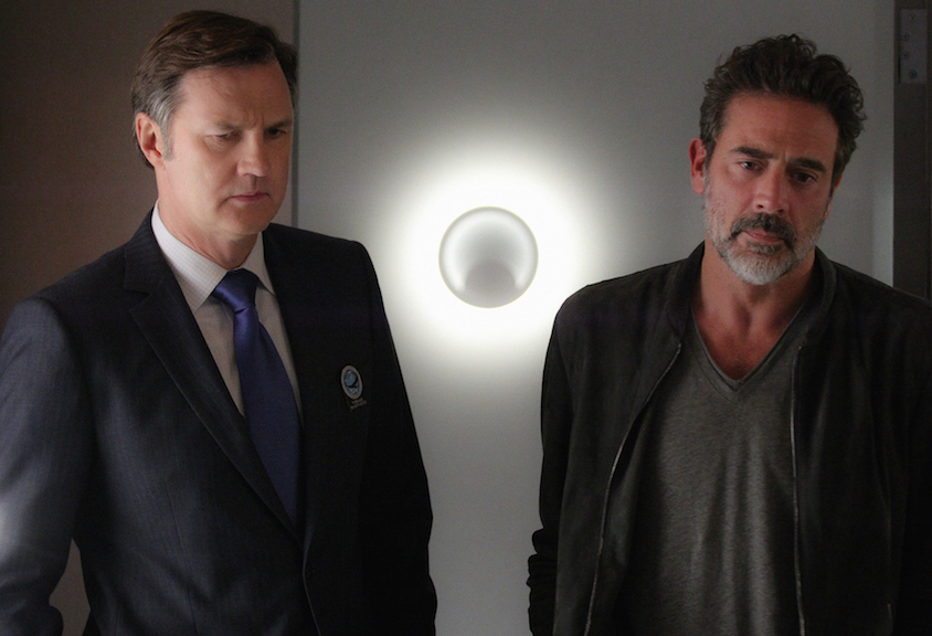 David Morrissey as Tobias Shepherd and Jeffrey Dean Morgan as JD Richter.
