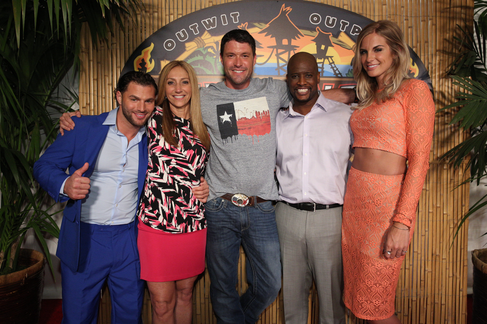 The final five live it up