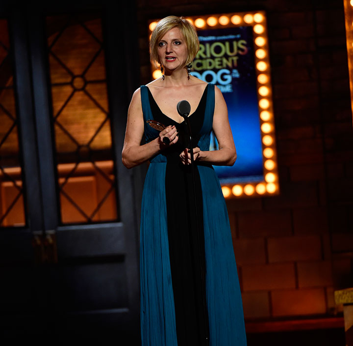 Best Direction Of A Play: Marianne Elliott, The Curious Incident Of The Dog In The Night-Time