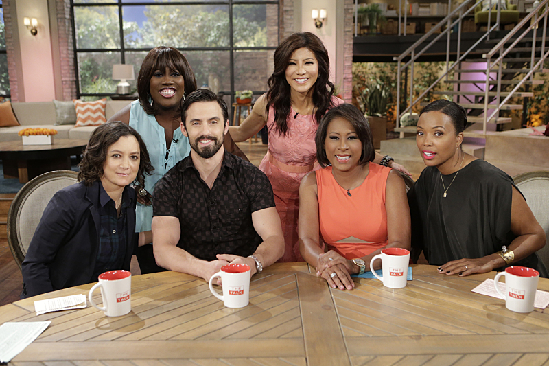 Milo Ventimiglia visted to talk about