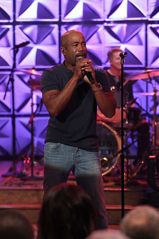 Darius Rucker performed