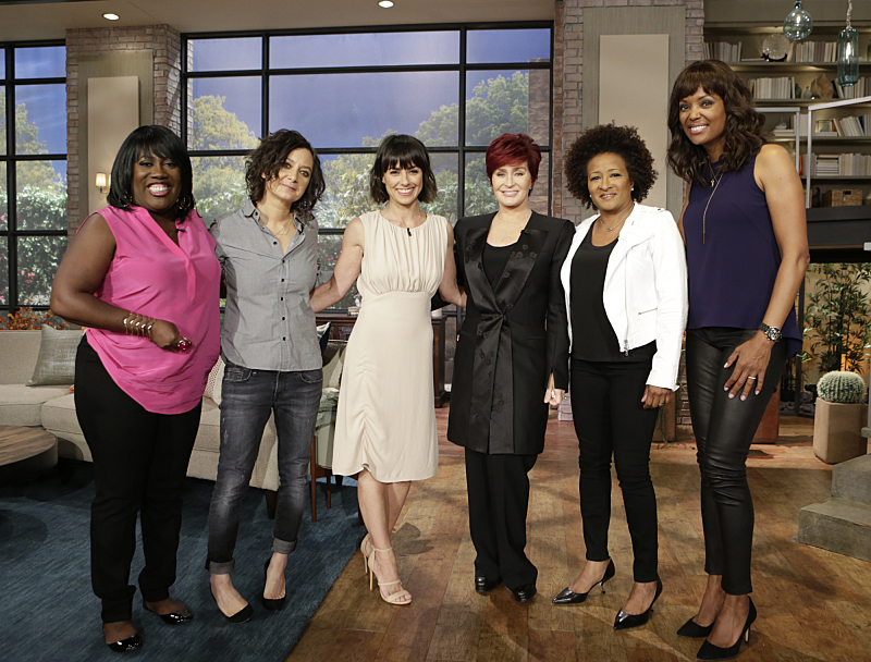 Constance Zimmer visited and Wanda Sykes co-hosted