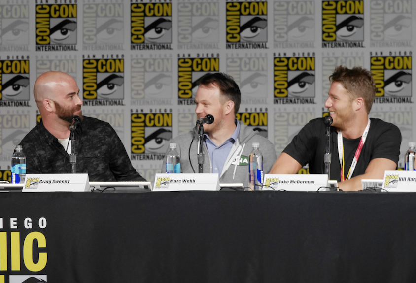 Executive Producer And Director Craig Sweeny, Director Marc Webb, And Actor Jake McDorman