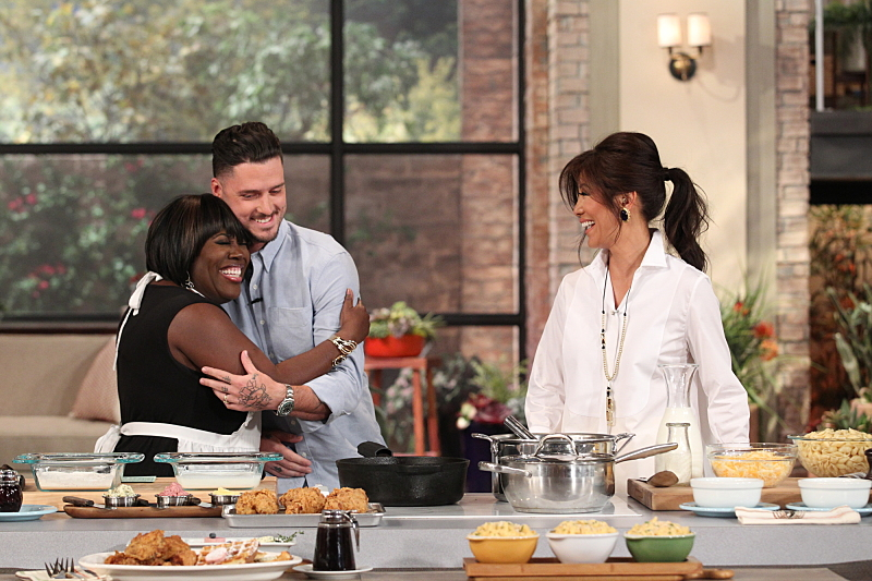The 12 Hottest Celeb Chefs In The Talk Kitchen The Talk
