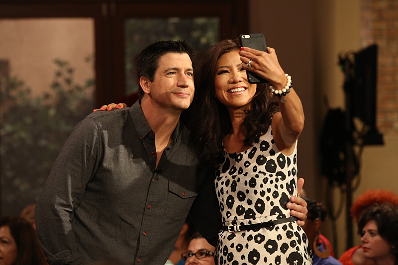 Julie Chen loves a good selfie