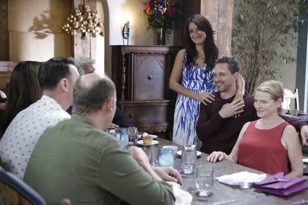 Colleen meets the family over brunch