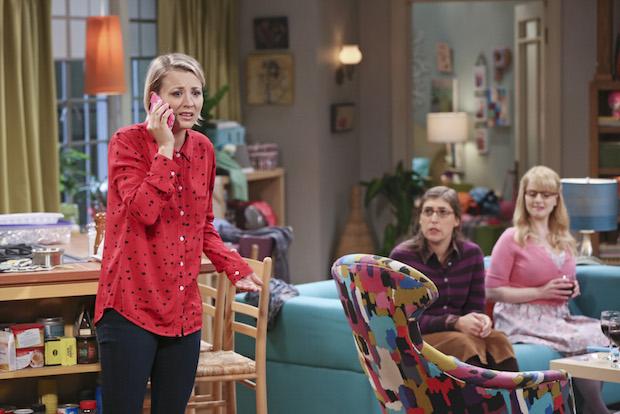 Penny tells her family she eloped
