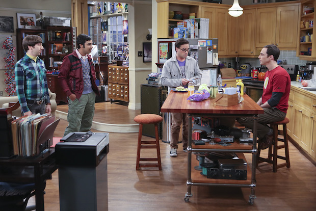 The guys plan a surprise bachelor party for Leonard