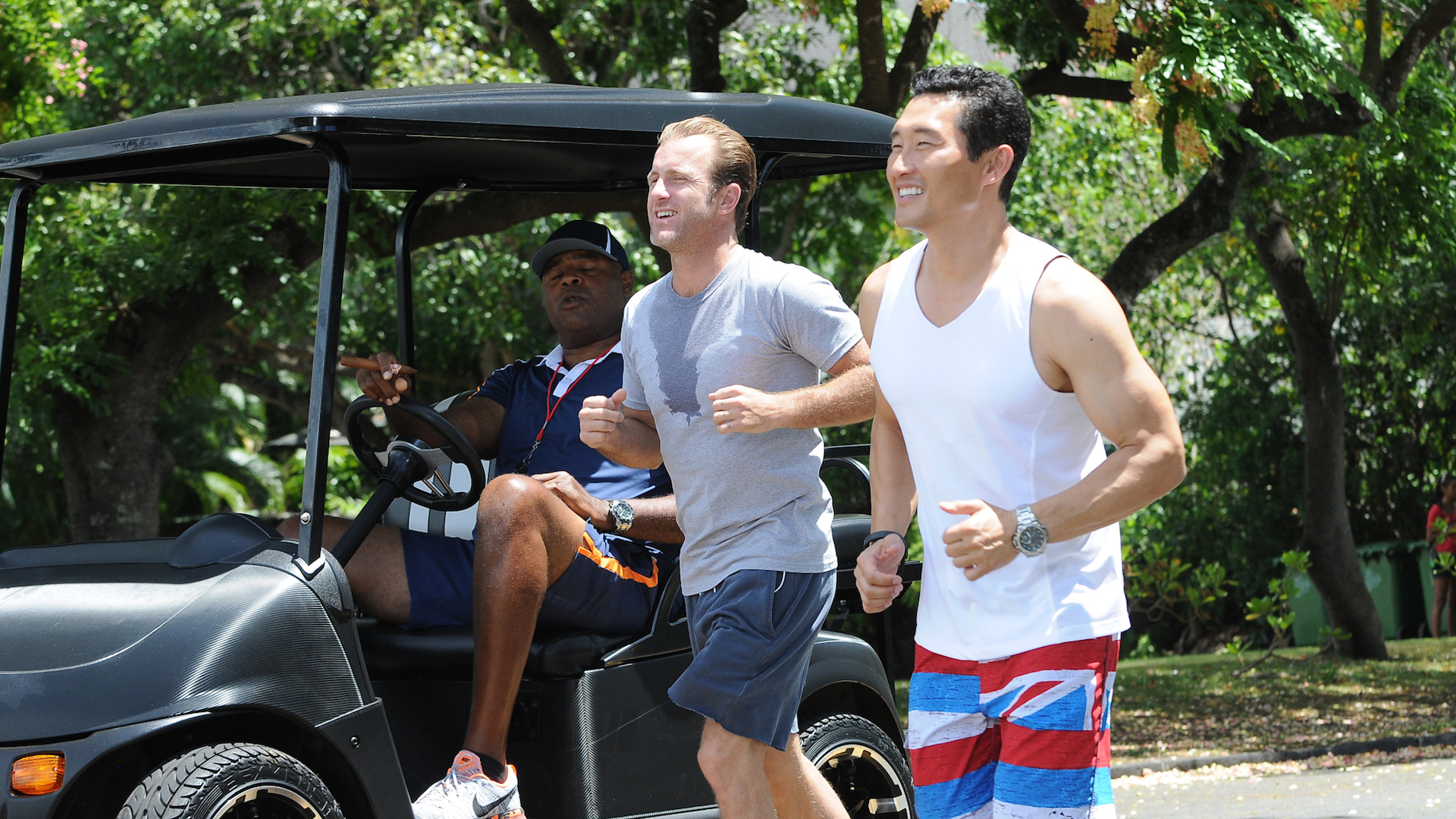 Would you ever consider doing a musical episode of Hawaii Five-0?