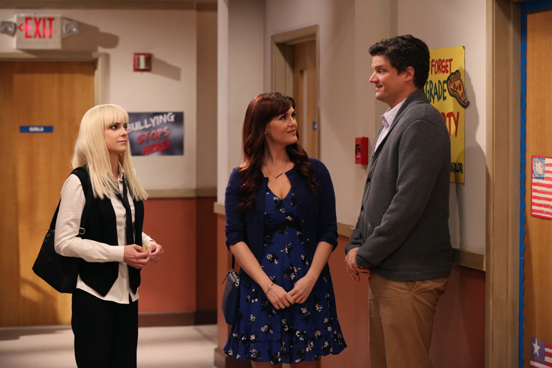 Christy meets up with her ex, Baxter, and his current girlfriend, Candace
