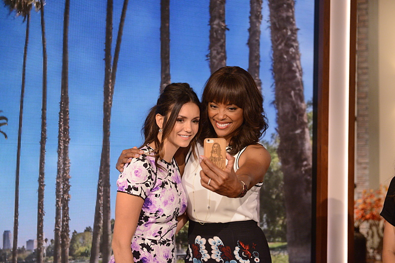 Nina Dobrev and Aisha Tyler
