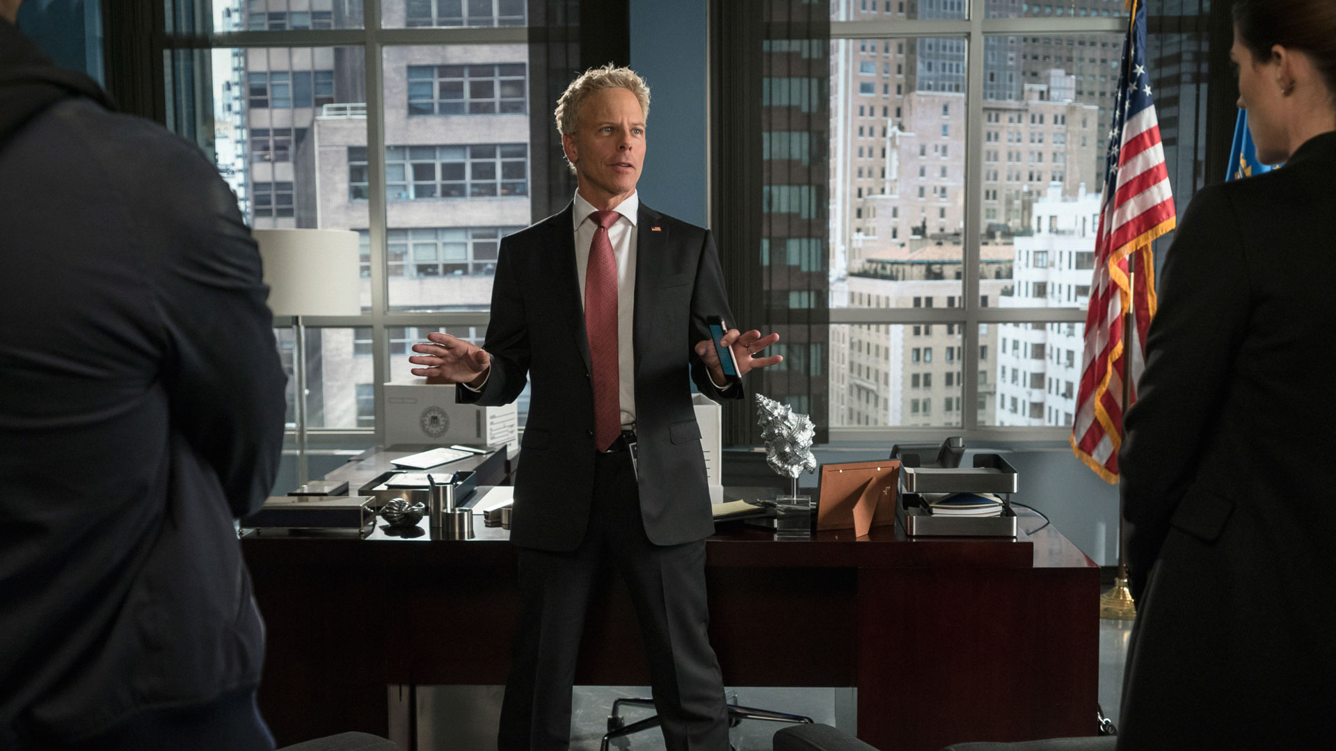 Greg Germann as ADIC Grady Johnson