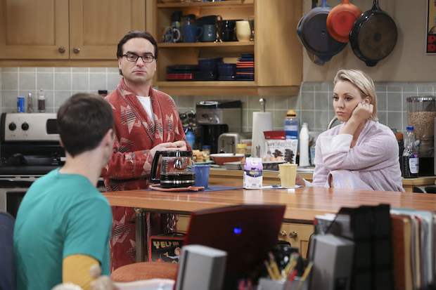 Sheldon leans on Leonard and Penny after his breakup with Amy