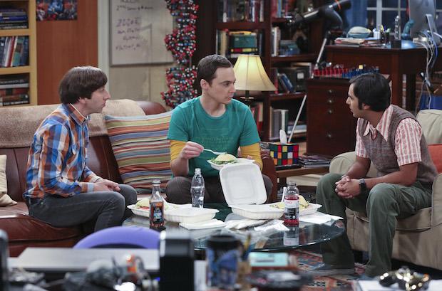 Howard and Raj discuss Sheldon's dating life