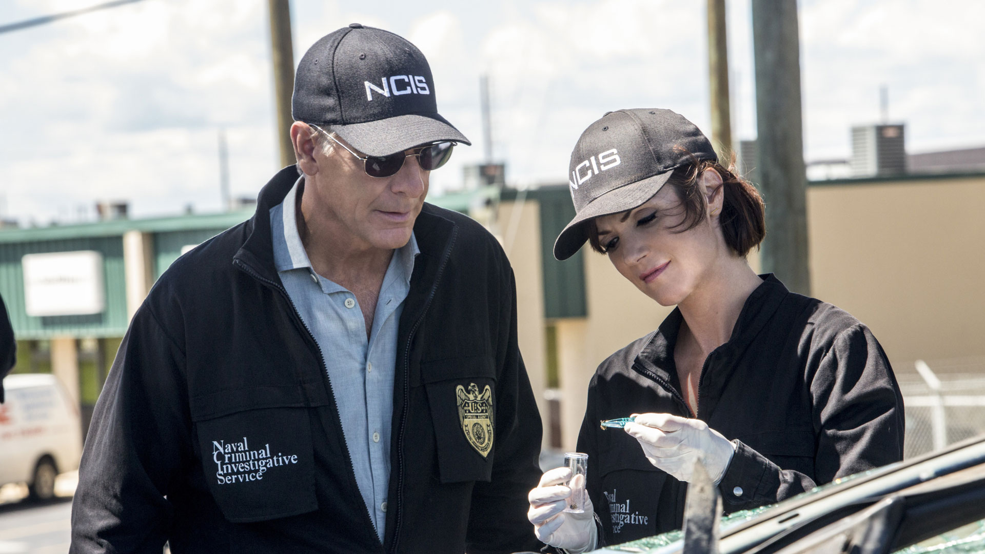 Scott Bakula as Dwayne Pride  and Zoe McLellan as Meredith Brody