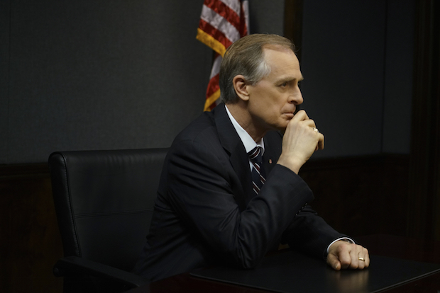 Keith Carradine as President Conrad Dalton