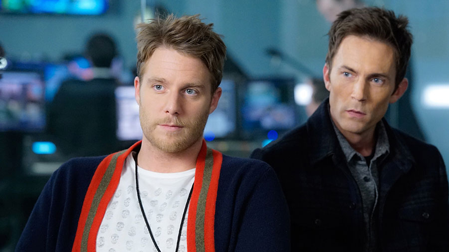 Jake McDorman as Brian Finch and Desmond Harrington as Agent Casey Rooks