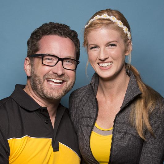 Burnie Burns and Ashley Jenkins: Dating