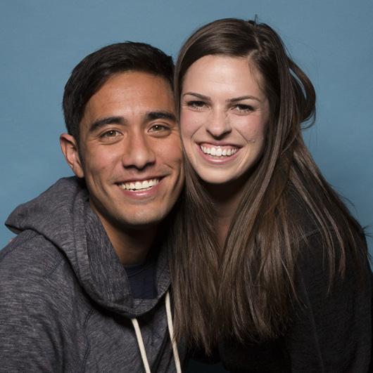 Zach and Rachel King: Newlyweds