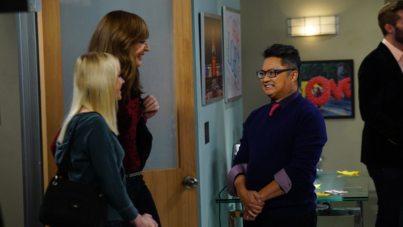 Bonnie and Christy are welcomed with open arms into the new group.