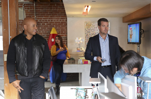 LL COOL J as Sam Hanna and Chris O'Donnell as G. Callen