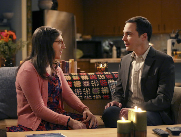 Amy and Sheldon prepare to take their relationship to the next level.