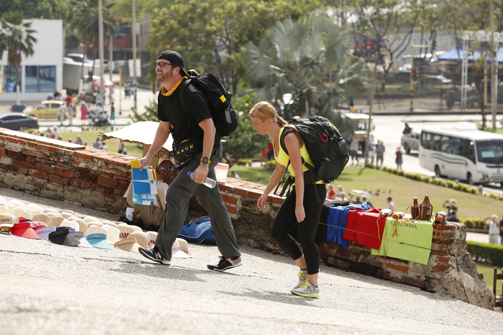 8. If given the chance, would you return for another season of The Amazing Race?