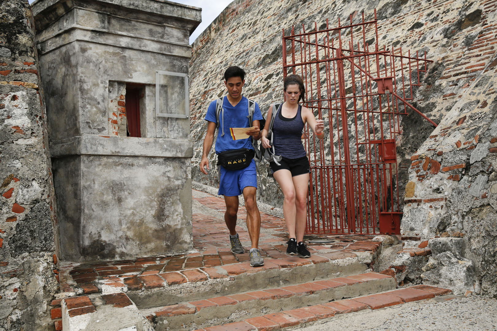 Zach and Rachel keep up the pace during the latest leg of The Amazing Race.