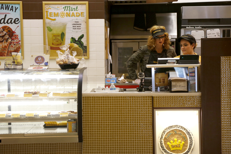 Shawnon follows around Bridgette, a Nestlé® Toll House® Café by Chip® Brand Ambassador, to see