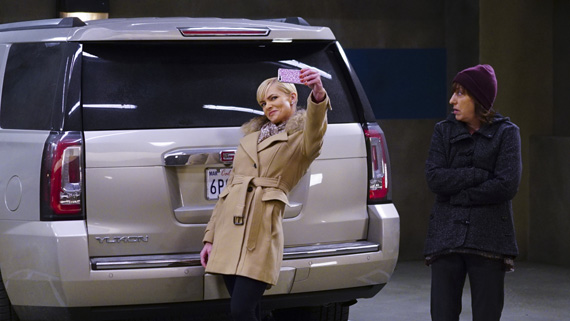 Jill takes a selfie in Canada.