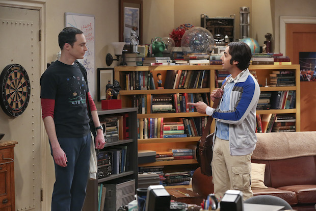 Sheldon and Raj discuss their recent discovery