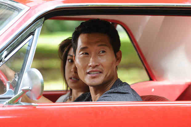 Grace Park as Kono Kalakaua and Daniel Dae Kim as Chin Ho Kelly