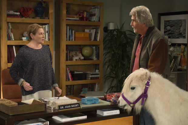 Tension develops between Joan and John over the mini horse.