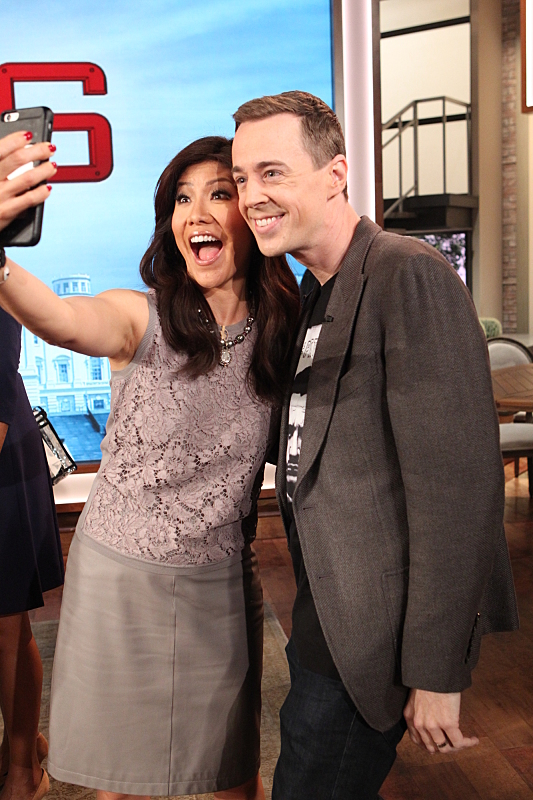 Sean Murray and Julie Chen