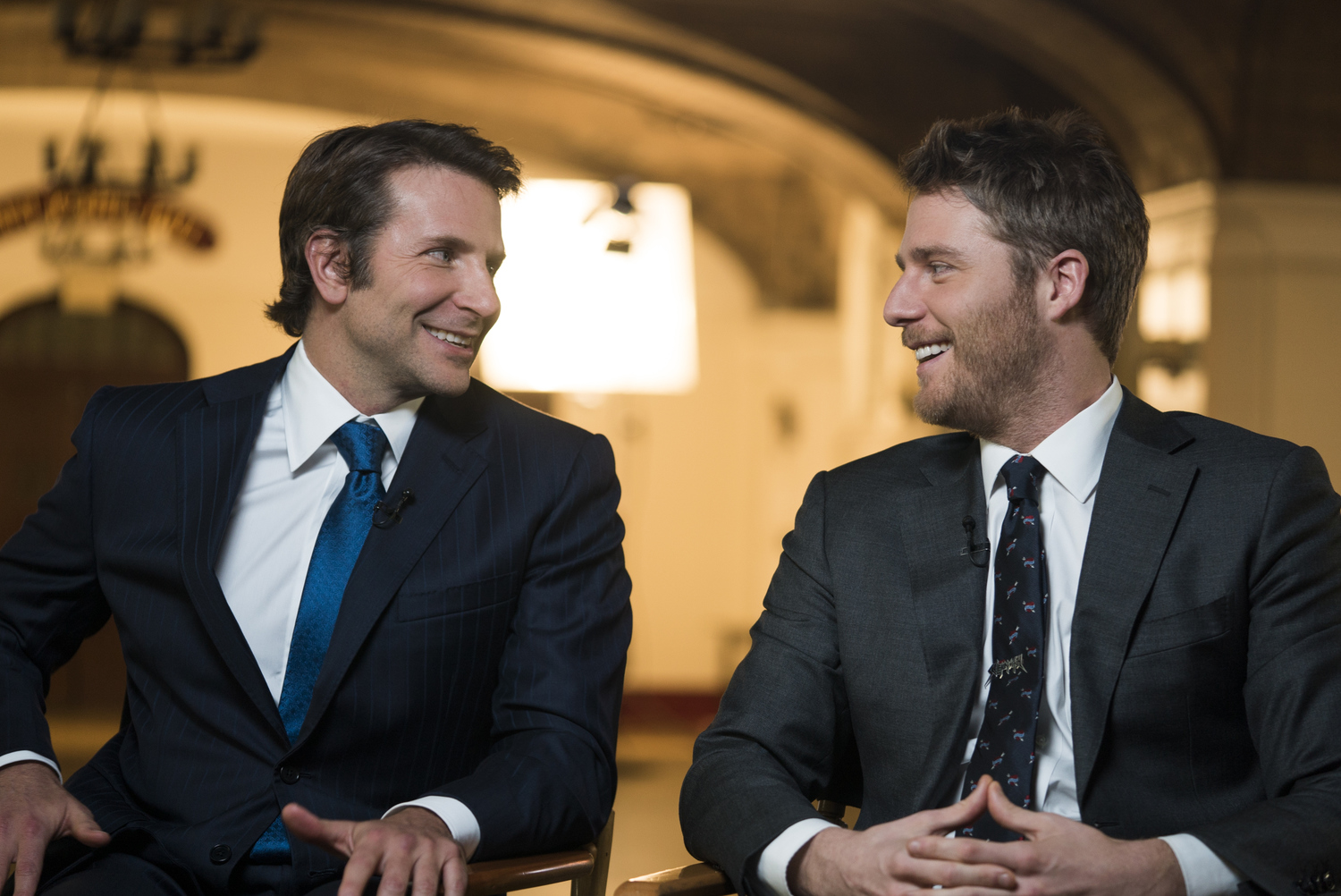 Bradley Cooper and Jake McDorman