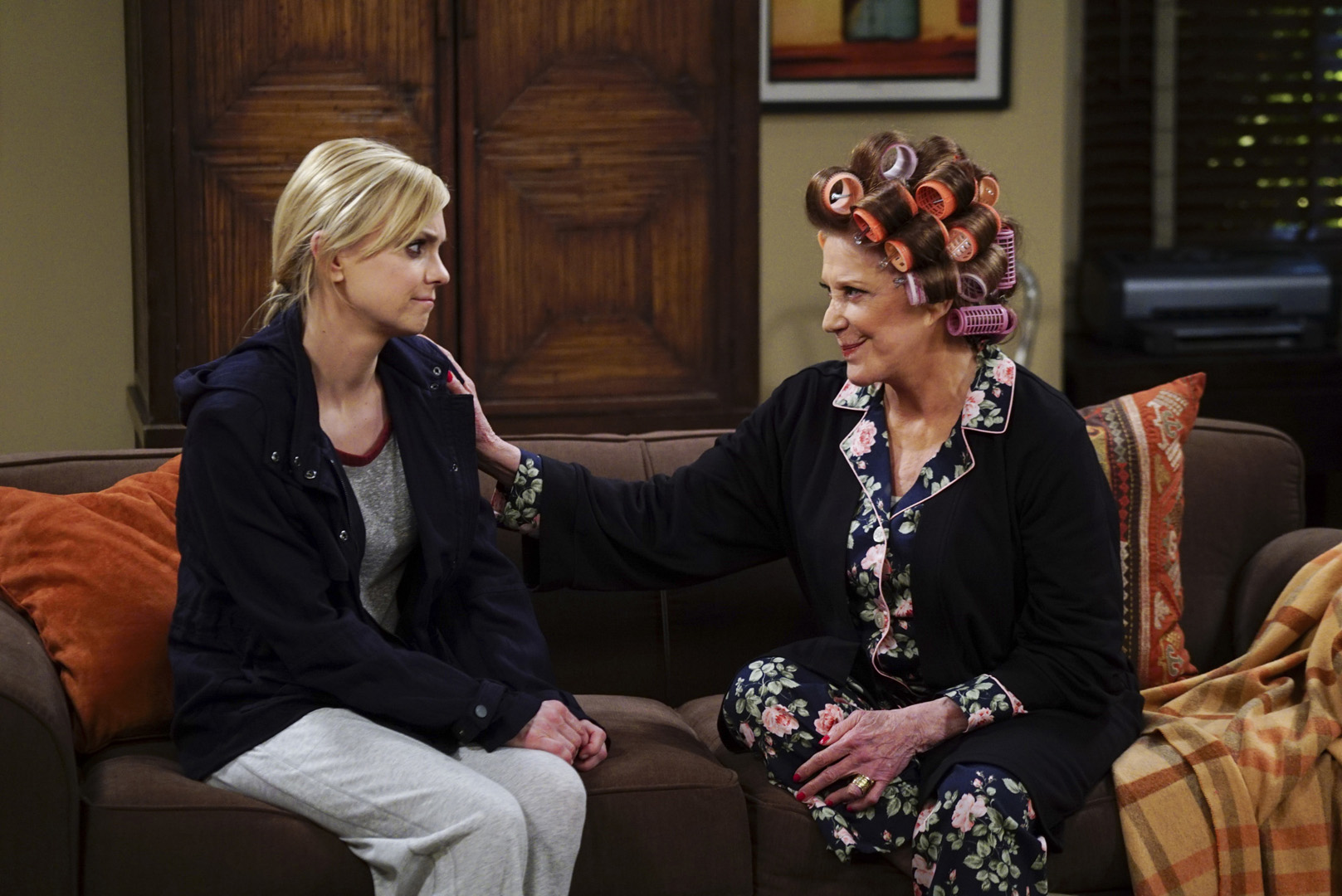 Christy and Phyllis have a heart-to-heart.