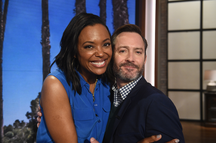 Thomas Lennon and Aisha Tyler