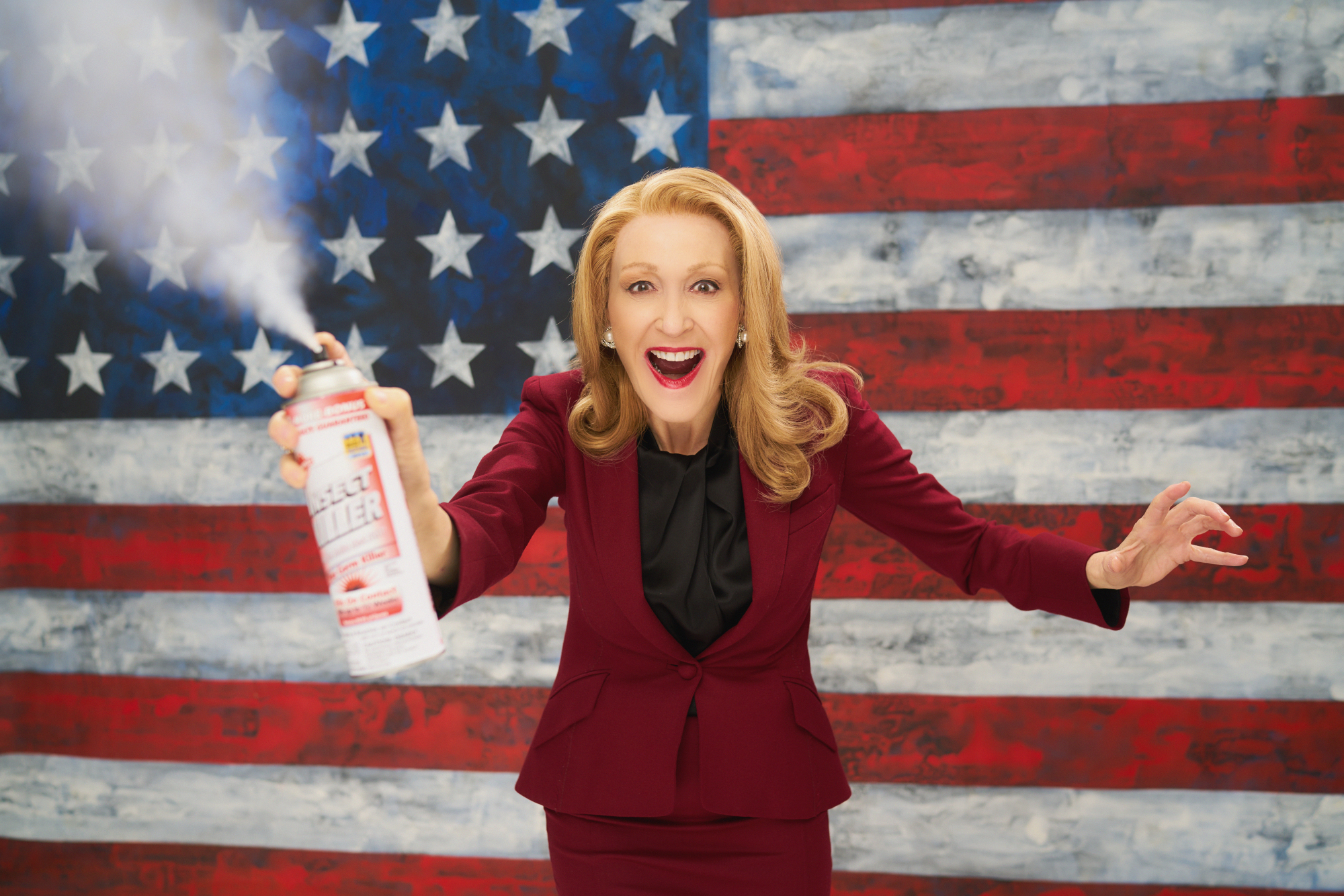Jan Maxwell as Senator Ella Pollack